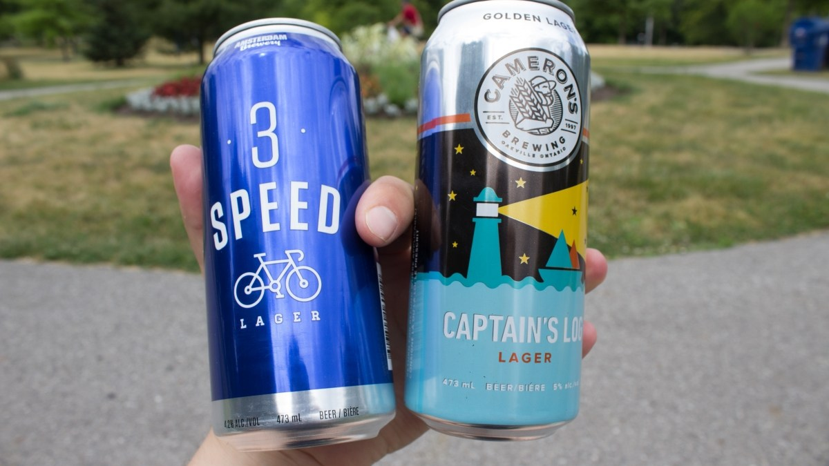 What Makes a Great Lager? 3 Speed vs. Captain's Log