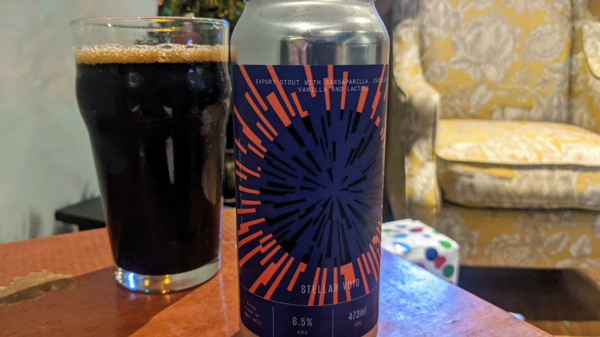 Stellar Void Stout: A Great Way to Say Hello to Halo Brewery