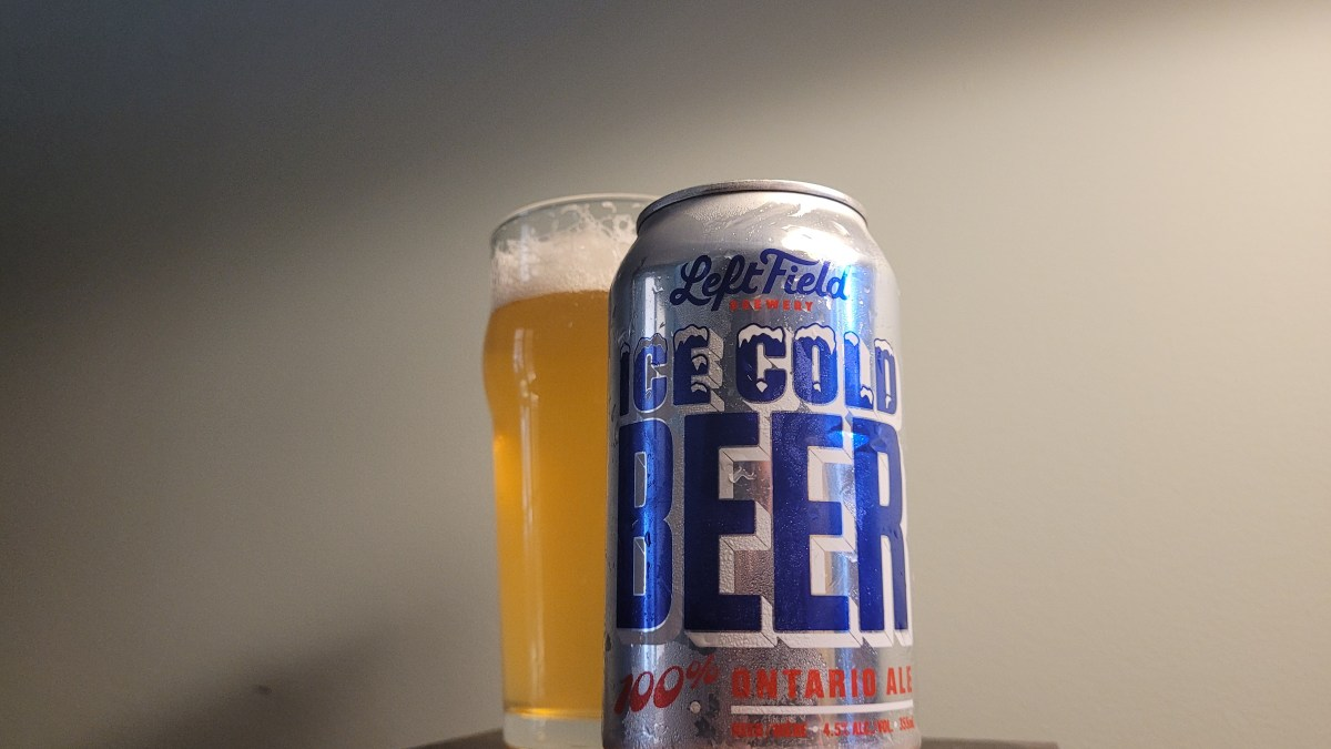 Ice Cold Beer — What More Needs to be Said?