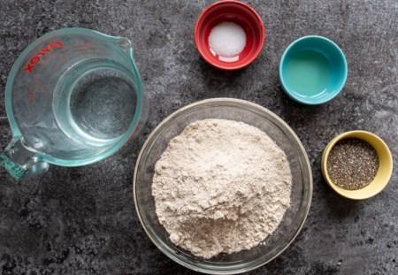 Chia Chapati Ingredients