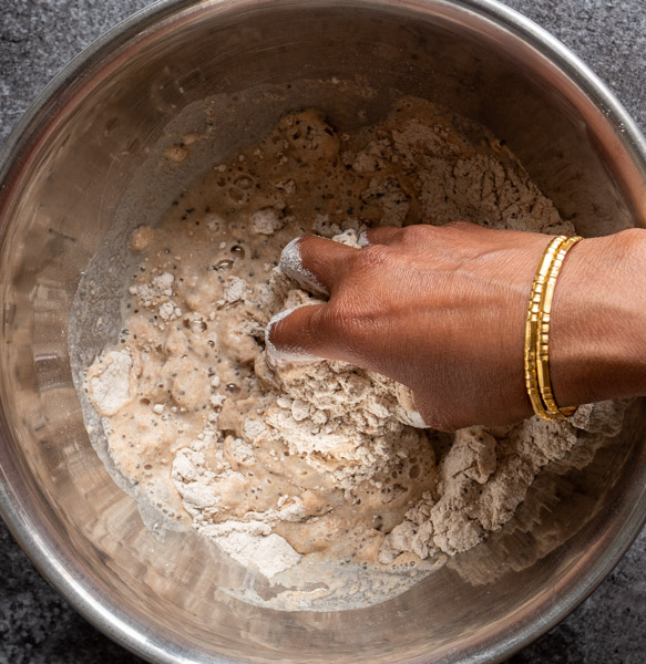 Chia Chapati Dough