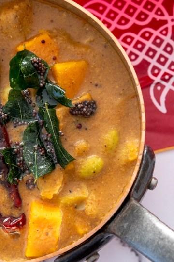 Kootu-Thiruvadhirai Ezhu Curry Kootu