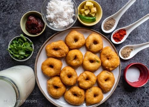 Ingredients for making Dahi Vada