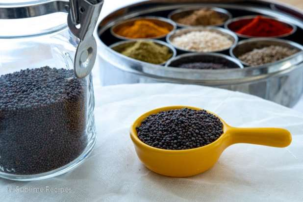 Indian Spice Box - Mustard Seeds