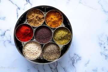 Indian Spice Box - My everyday spice box