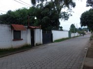 """A street view of the Peace Corps """"compound"""""""