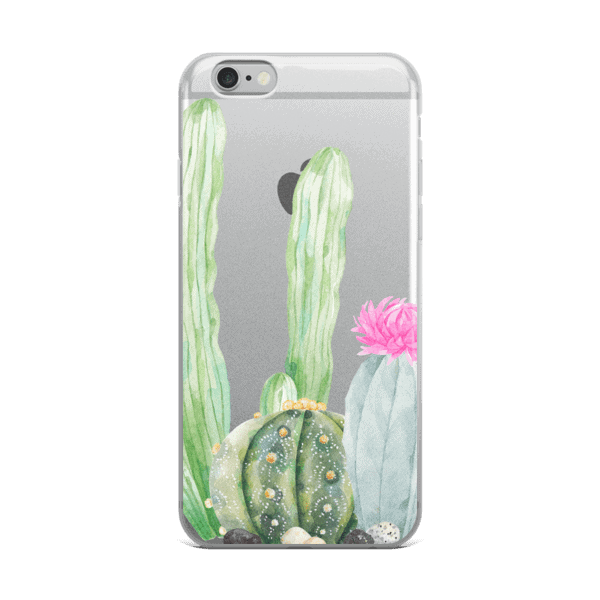 Cactus Party iPhone 5/5s/Se, 6/6s, 6/6s Plus Case