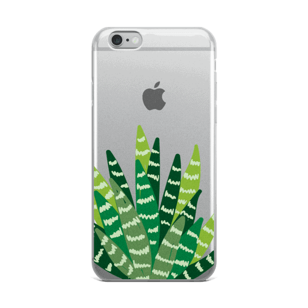 Sanseveria Stalks iPhone 5/5s/Se, 6/6s, 6/6s Plus Case