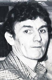 Sean Hodgson, photographed around the time of his arrest - Picture taken from Wikipedia