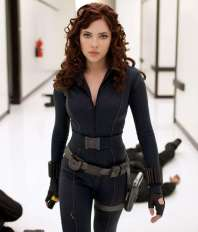 """11. Black Widow: Her mere presence kept 'The Avengers' film from being a total sausage fest. It's not like she's useless either; she is basically a super soldier (who gets the ultra booty end when compared to Cap) and she was smart enough to trick Loki. To this I say """"Welcome, to the team...The League of Extraordinary Ladies."""""""