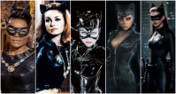 14. Catwoman: This goes out to all of the incarnations of the famous cat burglar (minus the Halle Berry one for various reasons). It's not just men that run Gotham.