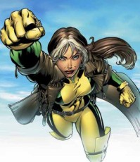 """6. Rogue: She has the power to absorb anyone's power and let's not forget she permanently has Ms. Marvel's powers on tap. She probably would have been ranked higher had it not been for her portrayal on-screen (I have no problems with Anna Paquin; but I do have a problem with how she was written into unbelievable """"bootiness"""")."""