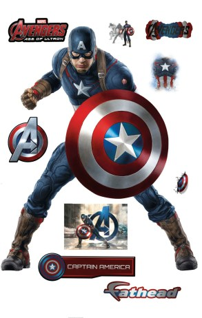 The-Avengers-2-Age-of-Ultron-Fathead-Decal-Captain-America-Stickers