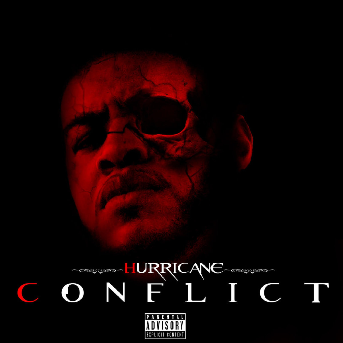 Hurricane - Conflict LP - Album Art
