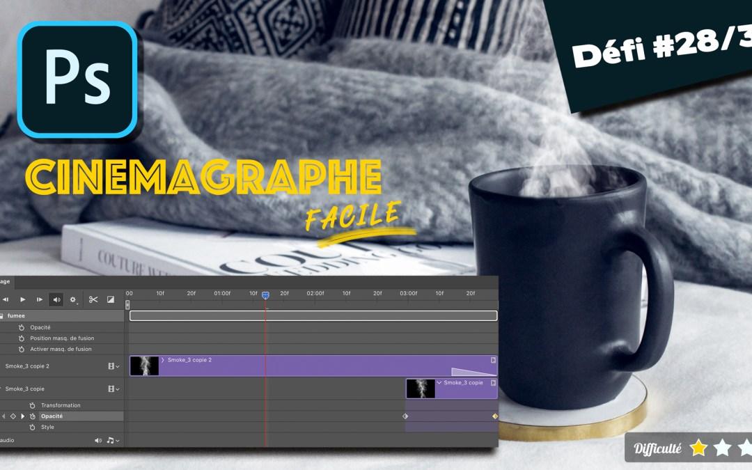 créer un cinemagraph sur photoshop facilement