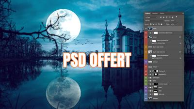 PSD offert/freebie