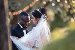 photo de mariage : avant retouche