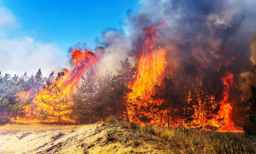 Looking At the Geology behind Wildfires