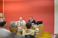 Première partie de la matinée avec monsieur Frédéric Saffroy et monsieur Jean-Yves Besselièvre.