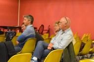Le public était composé de passionnés, ici des représentants de l'association GRAMASA d'Arcachon [http://www.gramasa.fr/].