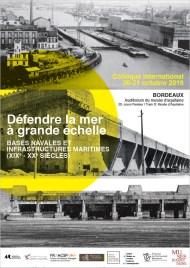 Photo n°1: l'entrée des bassins à flot de Bordeaux avec l'écluse-bunker détruite en 1947. Photo n°2: l'U-Bunker de Saint-Nazaire après la guerre. Photo n°3 l'un des U-bunkers de Lorient sur la presqu'île de Keroman.
