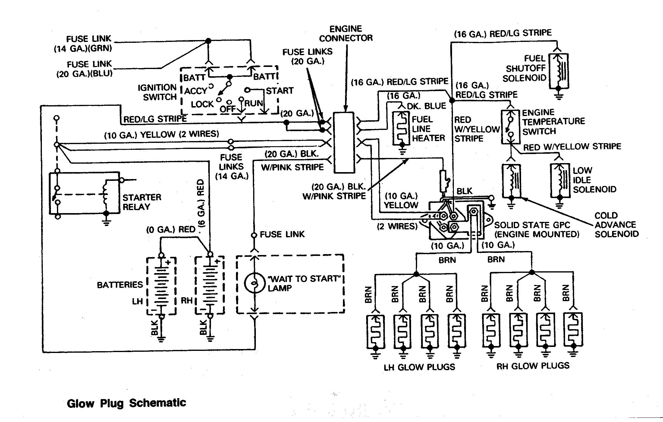 Ford F53 Headlight Switch Wiring Diagram Battery