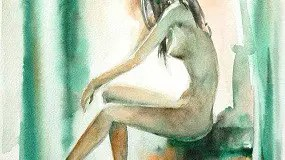 Being Nothing - picture of naked woman