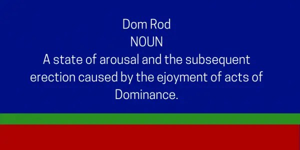 Dom Rod definition