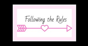 Following the rules in a submissive marriage