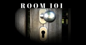 Room 101 for Food For Thought Friday #101
