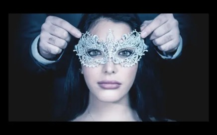 authentic - woman with eye mask