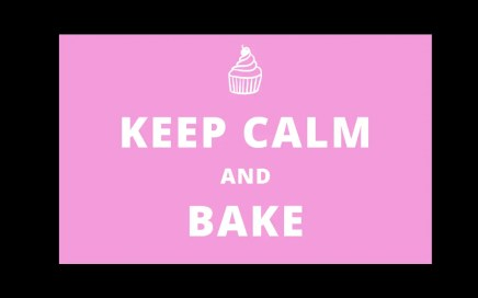 Stress Baker - keep calm and carry on baking