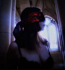 Blindfold in Church