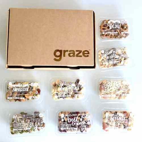 8 snack box graze