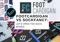 FOOTCARDIGAN VS SOCKFANCY_ LET'S OPEN THE SOCK BOXES!