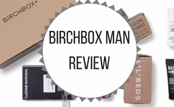 Birchbox Man Review
