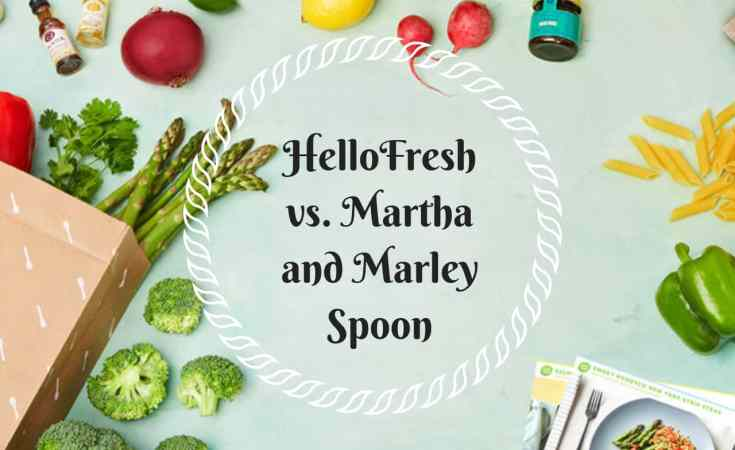 HelloFresh vs Martha and Marley Spoon