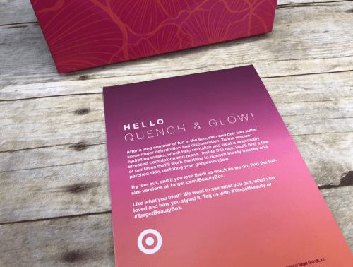 target beauty box manual