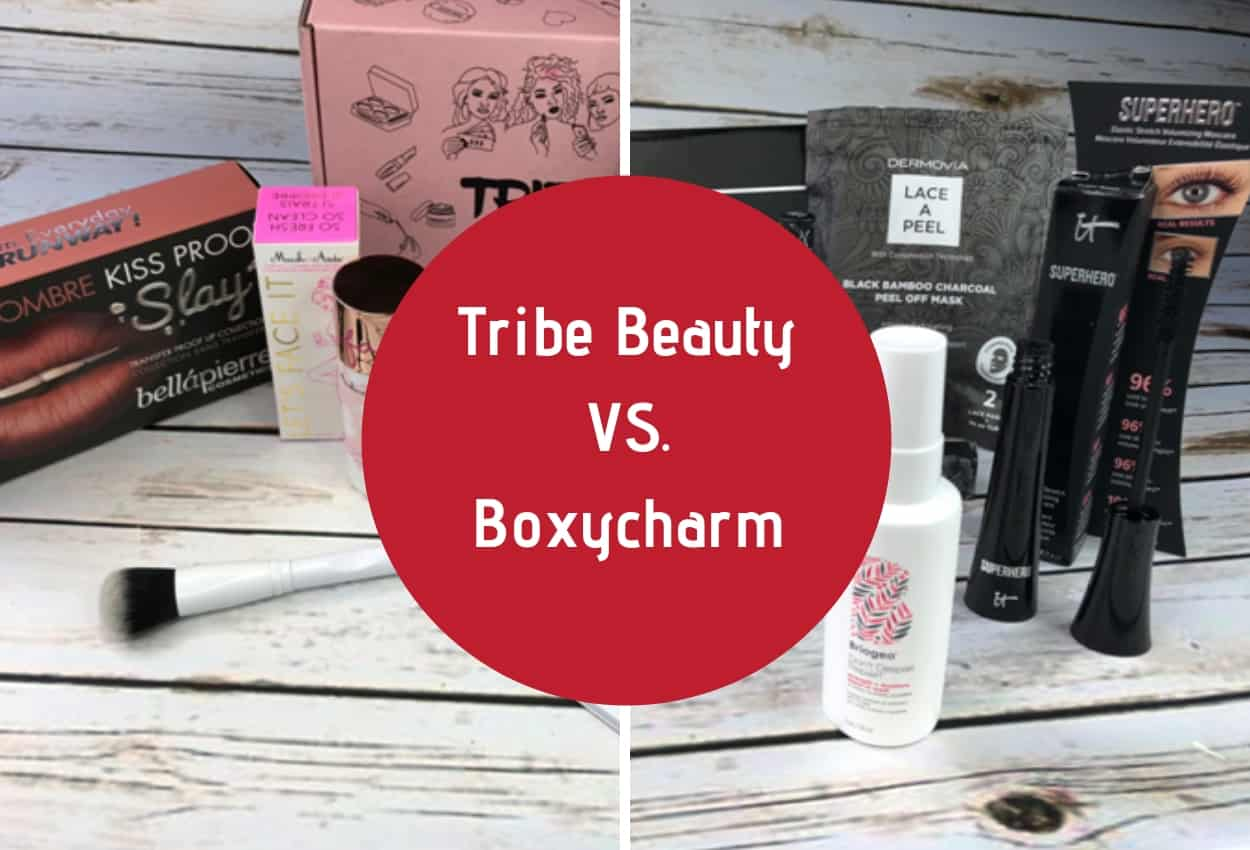 Tribe Beauty Box vs Boxycharm [December Unboxing] - Subscriboxer