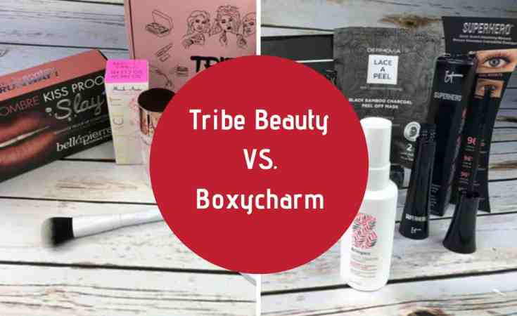 tribe beauty vs boxycharm