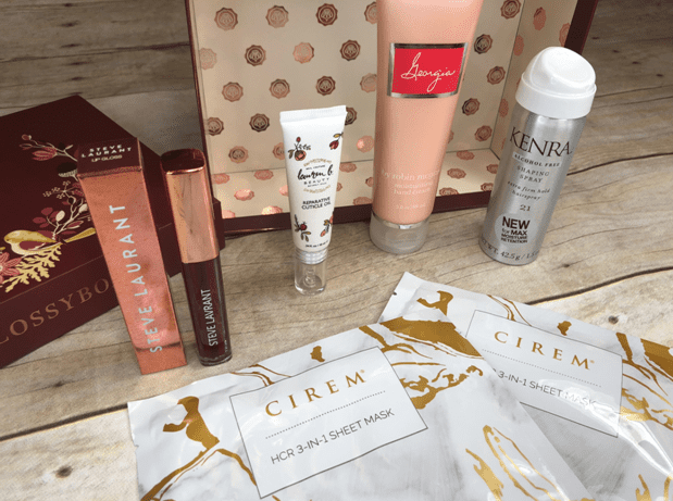 glossybox products
