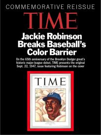 TIME COMMEMORATIVE REISSUE JACKIE ROBINSON Time Back