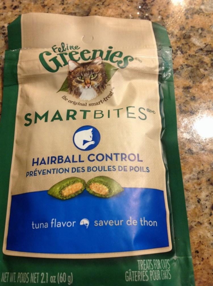 Greenies - Feline Smart Bite Hairball Control Tuna Treats
