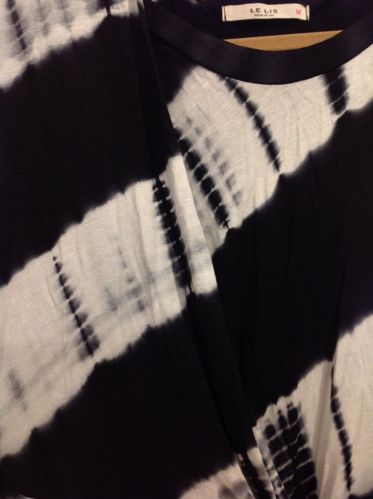 To Tie-Dye For Dress (Black) Close Up