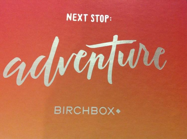 Birchbox Adventure