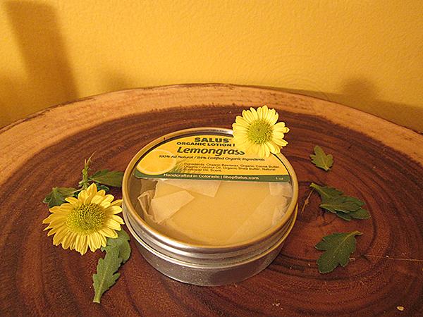 Salus Organic Lotion Bar Lemongrass