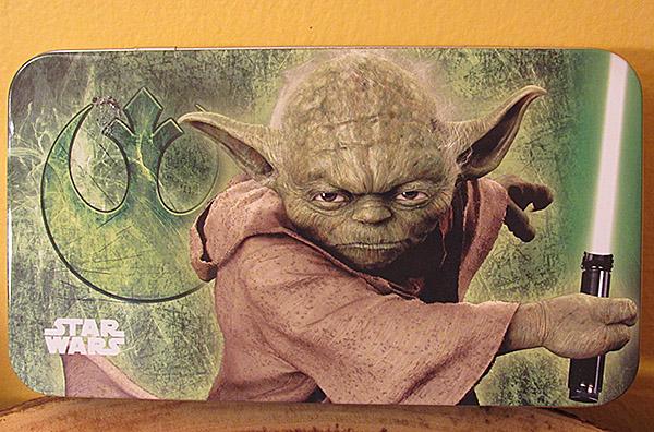 Yoda Tin Pencil Case