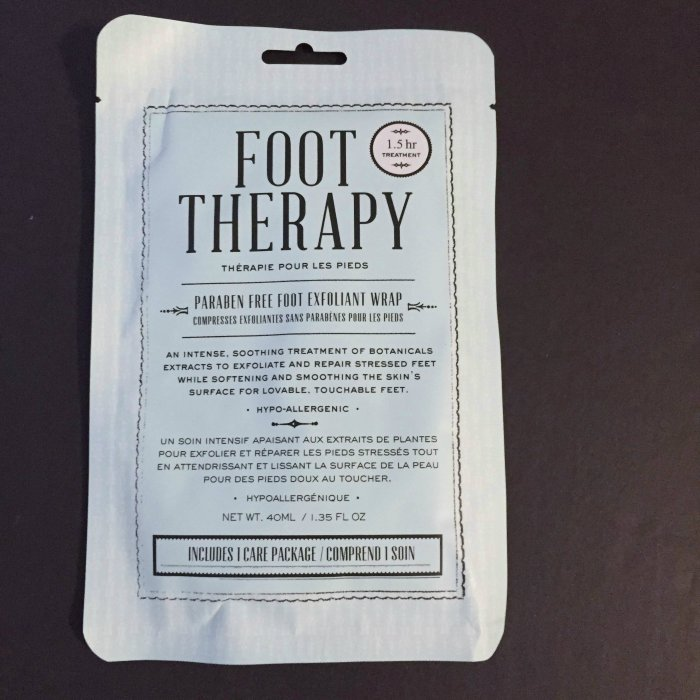 foot therapy succulent foot mask