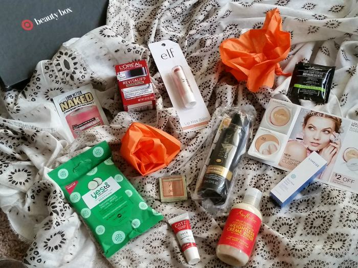 Target Beauty Box June 2016