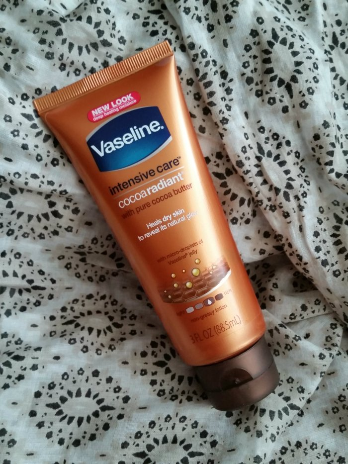 Vaseline intensive care cocoa radiant deep conditioning cream